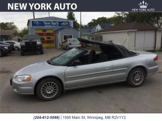 Used 2004 Chrysler Sebring LX for sale in Winnipeg, MB