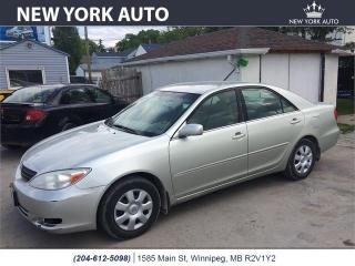 Used 2003 Toyota Camry LE for sale in Winnipeg, MB