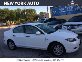Used 2008 Mazda MAZDA3 GX *Ltd Avail* for sale in Winnipeg, MB