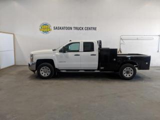 Used 2015 Chevrolet Silverado 3500HD Work Truck Ext. Cab Long Box 4WD for sale in Dundurn, SK