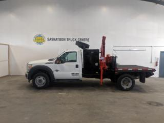 Used 2012 Ford F-450 SD W/ FERRARI 550 PICKER Regular Cab DRW 4WD for sale in Dundurn, SK