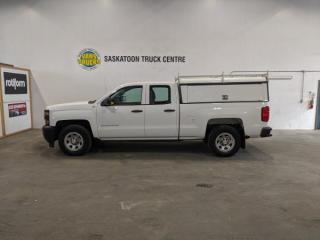 Used 2014 Chevrolet Silverado 1500 Work Truck 2WT Double Cab 2WD for sale in Dundurn, SK