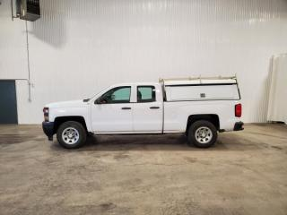 Used 2014 Chevrolet Silverado 1500 Work Truck 2WT Double Cab 4WD for sale in Dundurn, SK