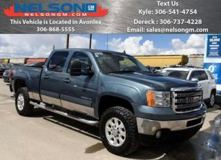 Used 2013 GMC Sierra 2500 HD SLT for sale in Avonlea, SK