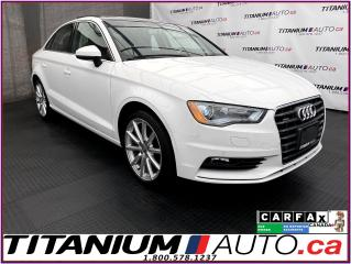 Used 2016 Audi A3 Quattro+Progressiv+GPS+Camera+Park Aid+Pano Roof+ for sale in London, ON