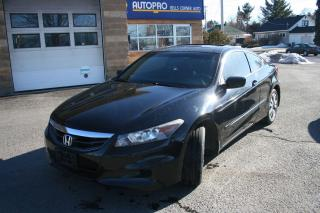 Used 2012 Honda Accord EX-L W/NAVI for sale in Nepean, ON