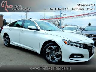 Used 2018 Honda Accord EX-L w.Honda Sensing.Leather.Roof.Cameras.Warranty for sale in Kitchener, ON