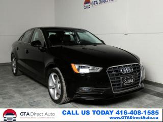 Used 2016 Audi A3 2.0T AWD Komfort Sunroof Leather KeyGo Certified for sale in Toronto, ON