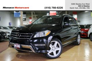 Used 2014 Mercedes-Benz M-Class ML350 BLUETEC - AMG|PANO|360CAMERA|NAVI|2xRIM&TIRE for sale in North York, ON