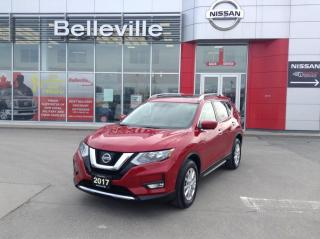Used 2017 Nissan Rogue SV Tech PANORAMIC SUNROOF, NAVIGATION,1 OWNER for sale in Belleville, ON