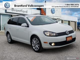 Used 2014 Volkswagen Golf Wagon Wolfsburg Edition 2.0 TDI 6sp DSG at w/ Tip for sale in Brantford, ON
