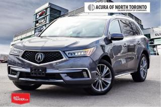 Used 2017 Acura MDX Elite No Accident| DVD| Remote Start for sale in Thornhill, ON