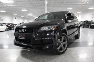 Used 2015 Audi Q7 TDI I S-LINE I VORSPRUNG I NO ACCIDENTS I NAVIGATION I BT for sale in Mississauga, ON