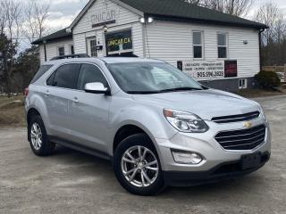 Used 2017 Chevrolet Equinox 1-Owner No Accidents AWD Backup Cam Bluetooth LT 4-Cyl for sale in Sutton, ON