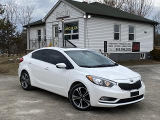 Used 2016 Kia Forte 1-Owner EX Backup Cam Sunroof Bluetooth Cruise A/C for sale in Sutton, ON