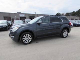 Used 2011 Chevrolet Equinox 1LT AWD CERTIFIED 2YR WARRANTY *FREE ACCIDENT* BLUETOOTH ALLOYS CRUISE AUX for sale in Milton, ON