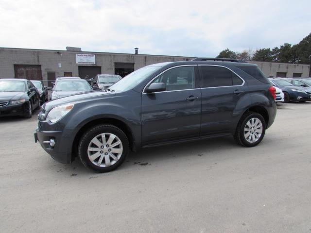 2011 Chevrolet Equinox 1LT AWD CERTIFIED 2YR WARRANTY *FREE ACCIDENT* BLUETOOTH ALLOYS CRUISE AUX
