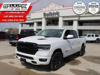 New 2020 RAM 1500 Sport - Night Edition - Hemi V8 - $343 B/W for sale in Selkirk, MB