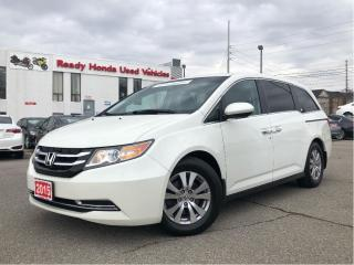 Used 2015 Honda Odyssey EX w/RES -  Dual Power Sliding Doors - DVD - R.Cam for sale in Mississauga, ON