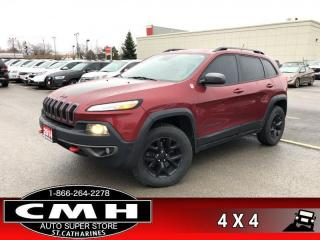 Used 2014 Jeep Cherokee Trailhawk  4WD TRAILHAWK  LEATH HS BT for sale in St. Catharines, ON