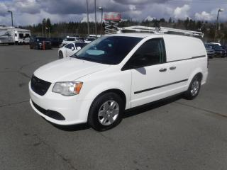 Used 2013 Dodge Cargo Van With Rear Shelving And Ladder Rack for sale in Burnaby, BC