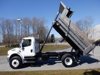 Used 2005 Freightliner M2 106 MEDIUM DUTY Air Brakes Dump Truck 12 foot Box Diesel for sale in Burnaby, BC