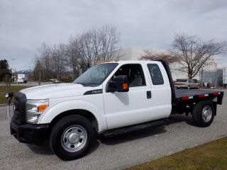 Used 2011 Ford F-350 SD SuperCab  2WD 8 Foot Flat Deck for sale in Burnaby, BC