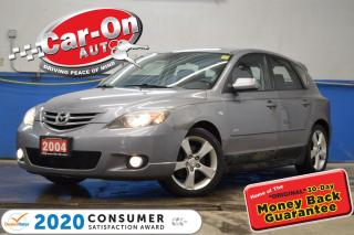 Used 2004 Mazda MAZDA3 Sport GS Hatchback 2.3L AUTO A/C CRUISE PWR GRP ALLOYS for sale in Ottawa, ON