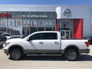 Used 2018 Nissan Titan Platinum for sale in St. Catharines, ON
