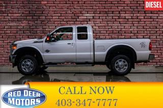 Used 2016 Ford F-250 4x4 Super Cab Lariat Diesel Leather Nav BCam for sale in Red Deer, AB