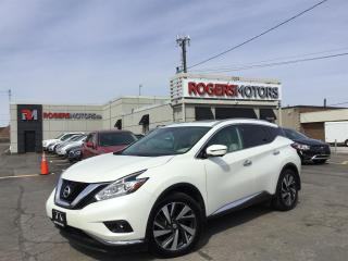 Used 2016 Nissan Murano - 2.99% Financing | 6 Months Deferral - PLATINUM AWD - NAVI - PANO ROOF - 360 CAMERA for sale in Oakville, ON