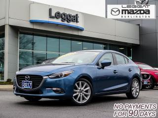 Used 2017 Mazda MAZDA3 GT-  6SPD MANUAL, MOONROOF, BOSE, BLUETOOTH, REAR CAMERA for sale in Burlington, ON