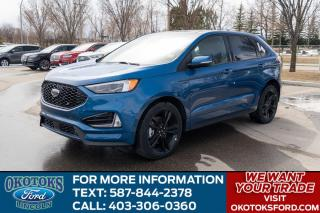 New 2020 Ford Edge ST Evasive Steering Assist, Heated Rear Seats, Lane Centering, Enhanced Active Park Assist, 21 inch Alu for sale in Okotoks, AB