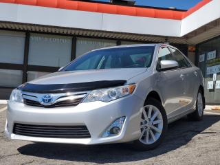 Used 2013 Toyota Camry HYBRID XLE NAVI | Suede Leather | Blind Spot Monitoring | JBL for sale in Waterloo, ON