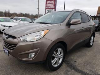 Used 2010 Hyundai Tucson GLS HEATED LEATHER SEATS !! BLUE TOOTH !! for sale in Cambridge, ON
