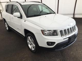 Used 2015 Jeep Compass Sport/North EXTRA LOW KM'S, POWER SUNROOF, 9 BOSTON ACOUSTIC SPEAKERS WITH SUBWOOFER, TINTED REAR GLASS for sale in Ottawa, ON