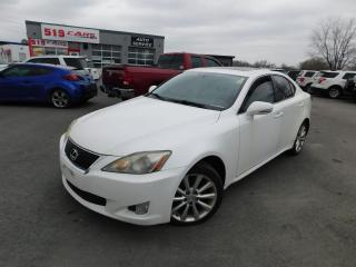 Used 2010 Lexus IS 250 NAVI|AWD|LEATHER|SUNROOF for sale in St. Thomas, ON