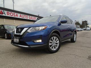 Used 2018 Nissan Rogue AWD SV TECH NO ACCIDENT NAVIGATION PANORAMIC 360 C for sale in Oakville, ON