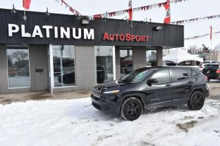 Used 2014 Jeep Cherokee Sport BLACKED OUT WHEELS!! BLUETOOTH!! REMOTE START!! 2 TONE INTERIOR!! for sale in Saskatoon, SK
