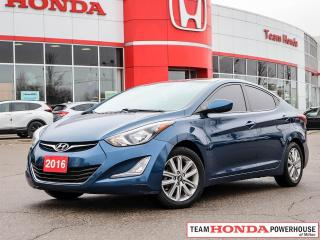 Used 2016 Hyundai Elantra GL for sale in Milton, ON