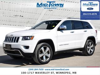 Used 2016 Jeep Grand Cherokee 4WD 4Dr Limited for sale in Winnipeg, MB