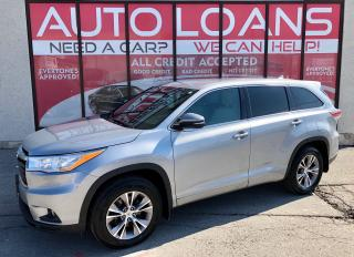 Used 2014 Toyota Highlander LE-ALL CREDIT ACCEPTED for sale in Scarborough, ON