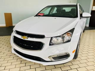 Used 2016 Chevrolet Cruze LT,NO ACCIEDENT,LOW MILAGE.SINGLE OWNER, 1.4 L for sale in Brampton, ON