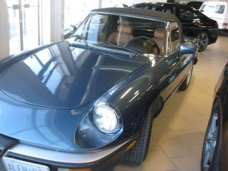 Used 1986 Alfa Romeo Spider Veloce for sale in Markham, ON