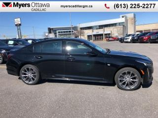 New 2020 Cadillac CTS Sport  CT5- SPORT, AWD, SUNROOF, NAV, CARBON SKIRTS, HEADS UP DISPLAY for sale in Ottawa, ON