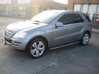 Used 2011 Mercedes-Benz ML-Class 4MATIC  NAVIGATION B-SPOT RUNNING BOARDS for sale in North York, ON