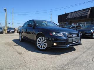 Used 2012 Audi A4 Auto quattro 2.0T NEW TIRES+ BRAKES LEATHER SUNRO for sale in Oakville, ON