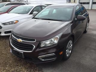 Used 2015 Chevrolet Cruze 1LT for sale in Alliston, ON
