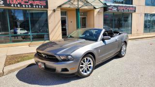 Used 2011 Ford Mustang V6 Convertible**LEATHER**NO ACCIDENT** for sale in North York, ON
