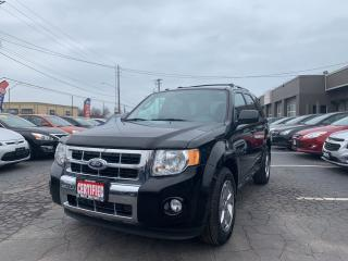 Used 2010 Ford Escape Limited -AWD for sale in Hamilton, ON
